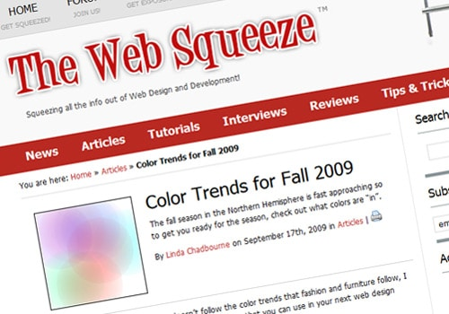 Color Trends for Fall 2009