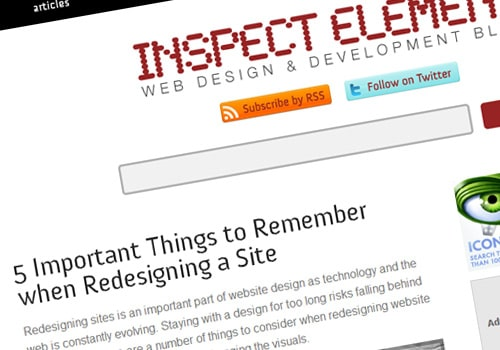 5 Important Things to Remember when Redesigning a Site