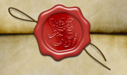 Old World Wax Seal