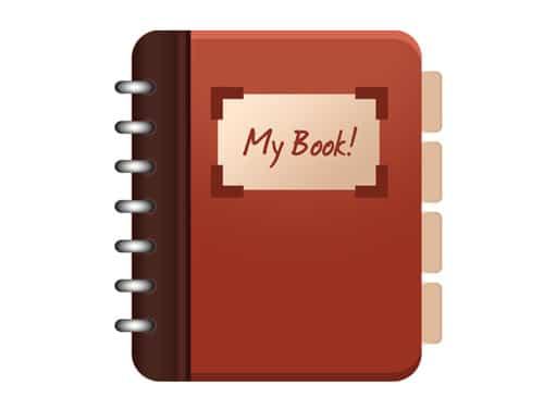 Psd book icon