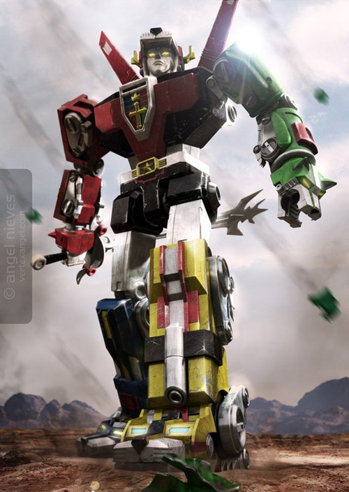 Voltron: Defender of the Universe, Angel Nieves (3D)