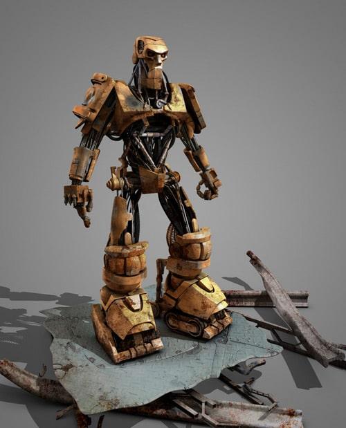 ABC Robot, Paulo César Duarte (3D)