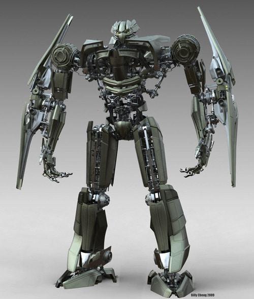 Concept Robot, Billy Cheng (3D)