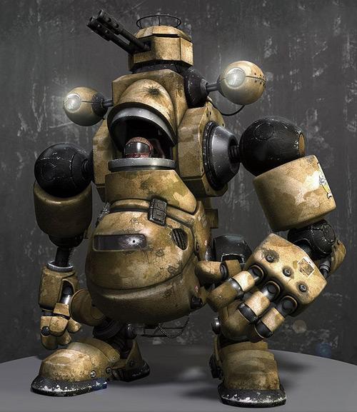 Warbot, Adam Scott (3D)