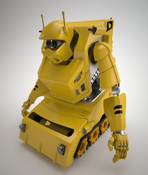bottrax - construction bot , dave davidson (3D)