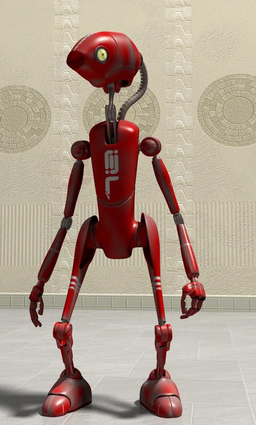 Red Bot, Jerónimo Cabezas (3D)