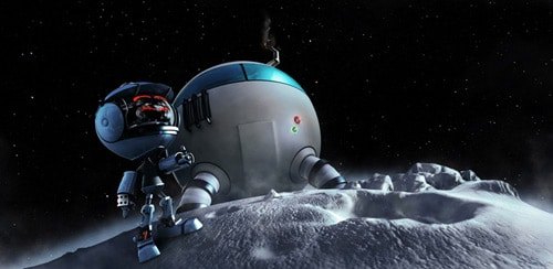 Zip the robot, Marcel Nilo (3D)