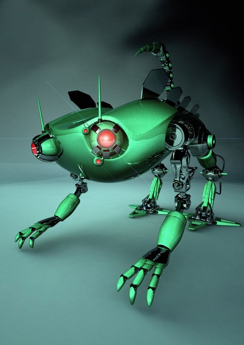 Bot Design, Darko Markovic (3D)