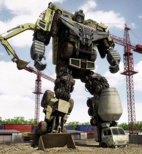 Transformers DEVASTATOR, Javier Carabajal (3D)