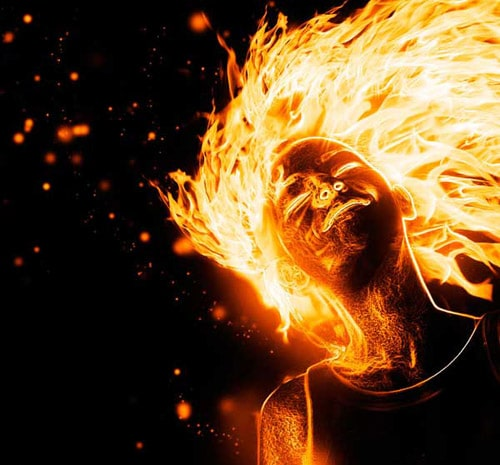In this tutorial, we'll manipulate a picture so it looks like a woman burning in flames. Author: Jayan Saputra