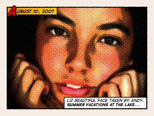 Give Your Photos a Retro Comic Book Effect