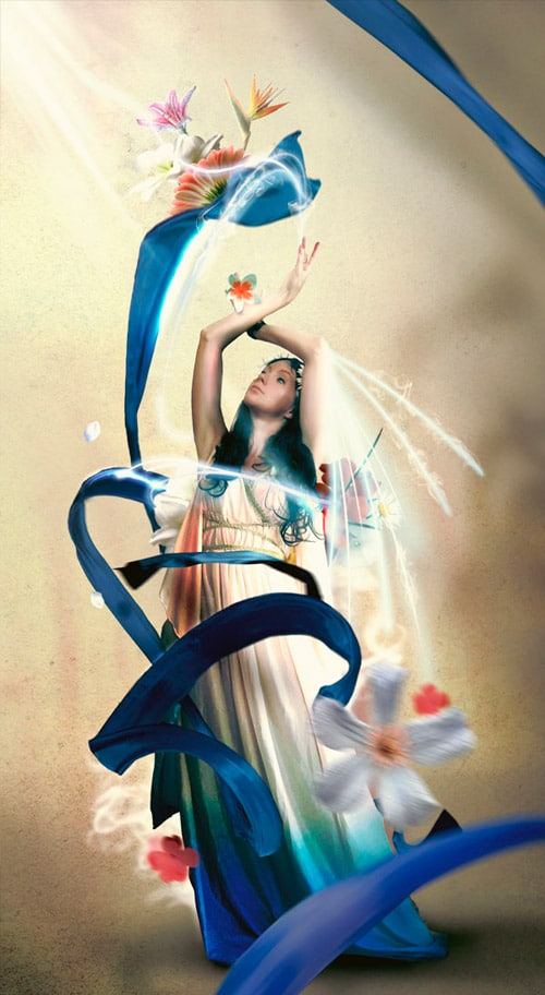 How to Create a Sparkling Fantasy Photo Manipulation