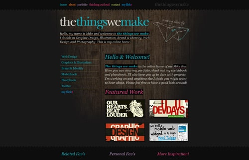 thethingswemake.co.uk