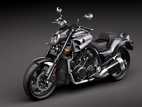 Yamaha Star V-MAX 2009 3D Model