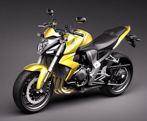 Honda CB1000R 3D Model