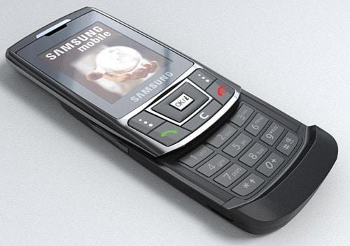 Samsung D 900 E