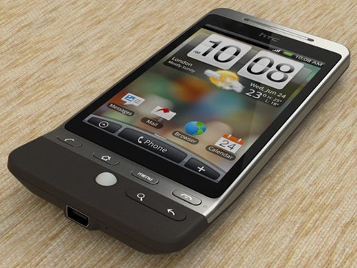HTC Hero Black