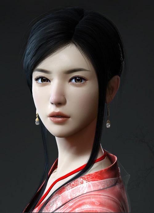 Classical Girl by wangshiyong