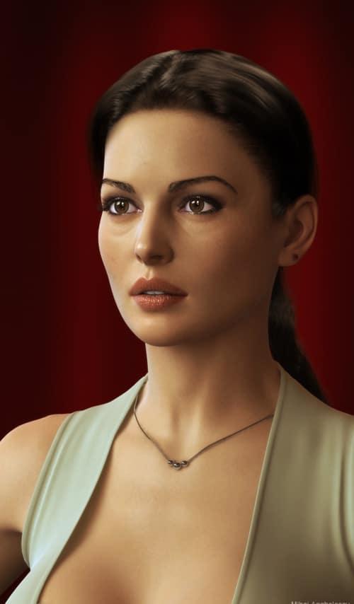 Beauty Monica, Mihai Anghelescu (3D)