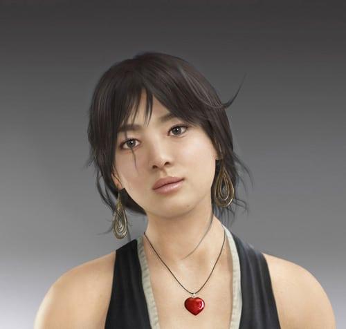 Korean Star Actress - Li Vlad Ghenghea