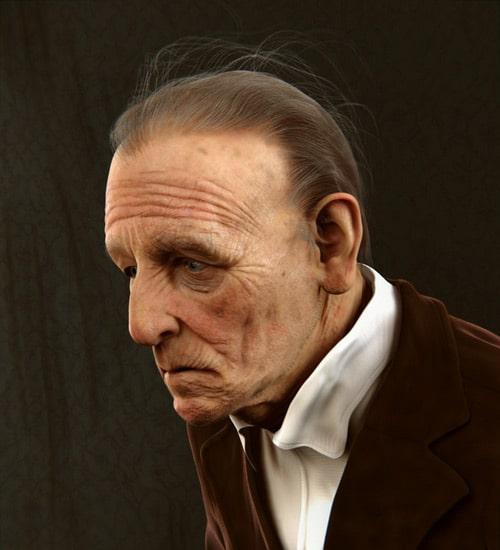 Old Guy, Kamil Makowski (3D)