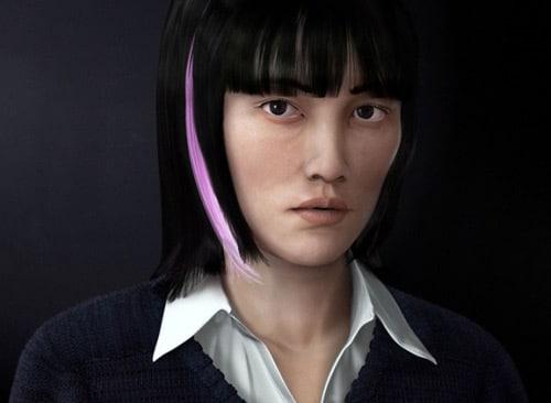 Rinko Kikuchi - Diego Romo