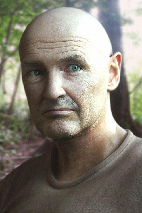 John Locke - LOST, Eduardo Oliden (3D)