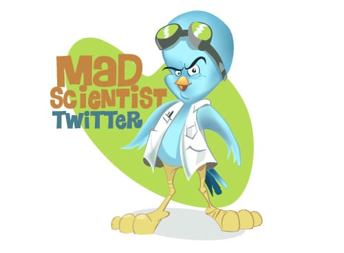 Mad Scientist Twitter Icon