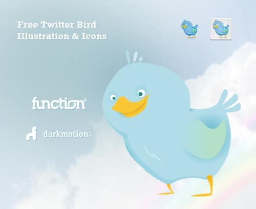 The Cutest Freebies: Twitter Bird Icons & Illustration