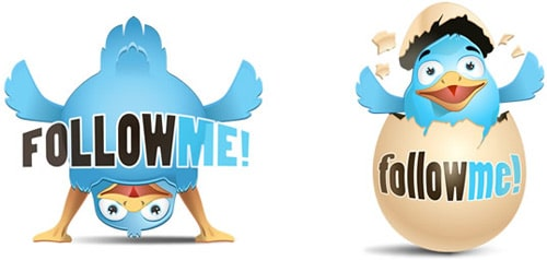 Freebies: 2 Awesome Twitter Icons