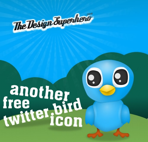 Tweet Tweet Cute Tweet: Another Free Twitter Bird Icon