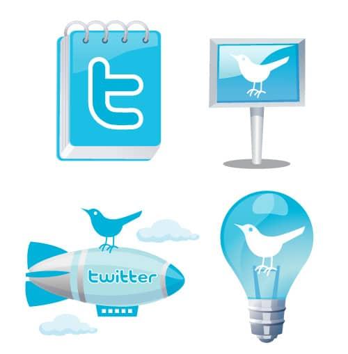 Free TwitterFun Icons