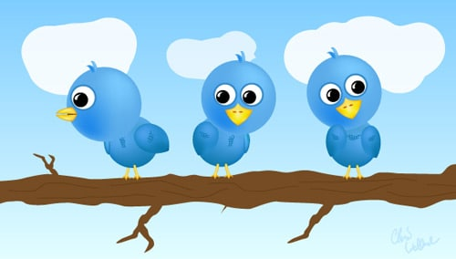 Tweeties: a Free Twitter Icon Set