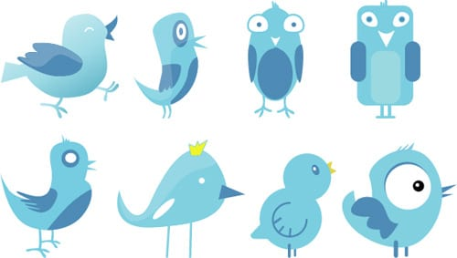 Freebie: Exclusive Twitter Birds Set!