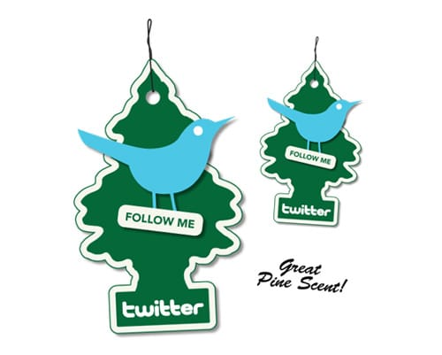 Free Twitter Air Freshener Icons