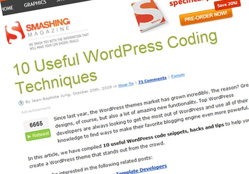 10 Useful WordPress Coding Techniques