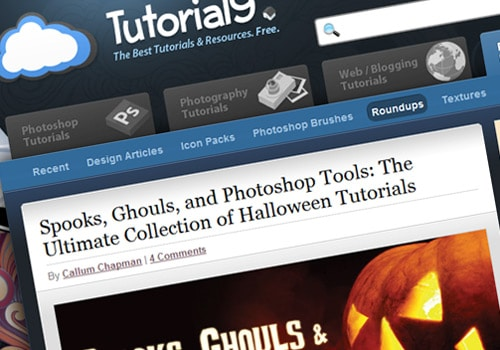 Spooks, Ghouls, and Photoshop Tools: The Ultimate Collection of Halloween Tutorials