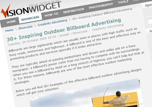 30+ Inspiring Outdoor Billboard Advertising