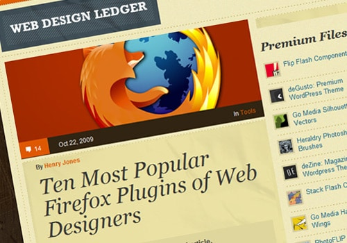 Ten Most Popular Firefox Plugins of Web Designers