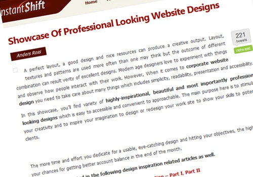 Showcase Of Professional Looking Website Designs
