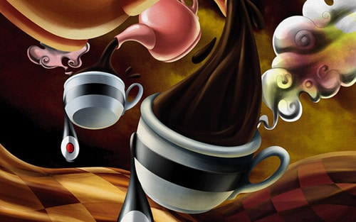 Products - Coffee Surrealistic Style