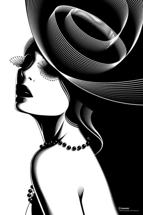 Noir -  Le Chapeau Noir