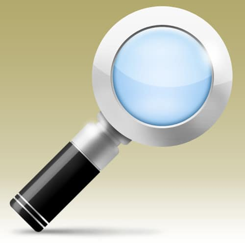 Create a Magnifying Glass Icon in Photoshop CS4