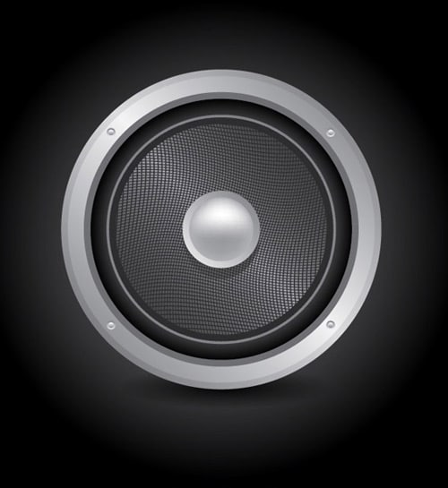 Design a Vector Audio Speaker Icon In Illustrator