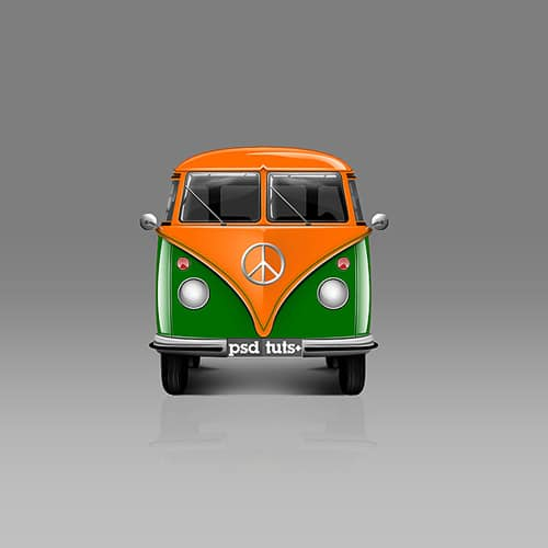 How to Create a Van Icon in Photoshop
