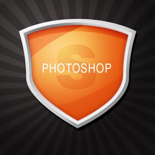Making a Photoshop Shield
