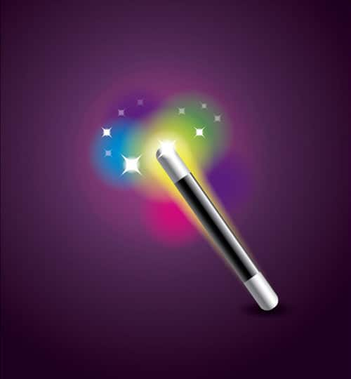 How to Create a Magic Wand Icon