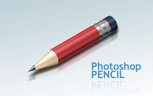 How to Create a Super Shiny Pencil Icon