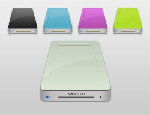 Custom Hard Drive Icon