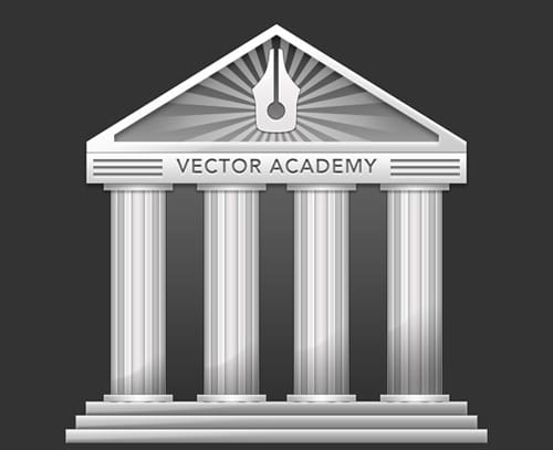 How To Create An Academy Icon From Simple Shapes